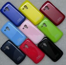 IMPORTED GLOSSY HARD BACK CASE COVER FOR SAMSUNG GALAXY S DUOS 2 S7562 S7582