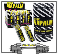 Fitness Authority FA Xtreme Napalm Vitargo 500g & 1kg & shots Pre-Workout