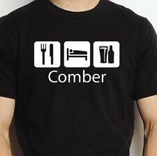 COMBER EAT SLEEP DRINK COMBER PERSONALISED T SHIRT