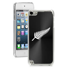 For Apple iPod Touch 4th 5th 6th Hard Case Cover New Zealand Silver Fern