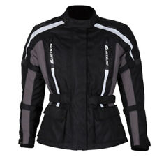SPADA CORE MOTORCYCLE JACKET BLACK/GREY LADIES ALL SIZES