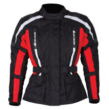 SPADA CORE MOTORCYCLE JACKET BLACK/RED LADIES ALL SIZES