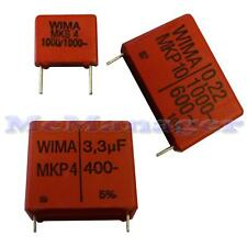 1nF-3.3uF 63V-400V Metallized Polyester Film Capacitors 1-5-10pcs  Wima/Epcos