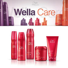 Wella Professionals Brilliance Shampoo Conditioner Styling for Coloured Hair!