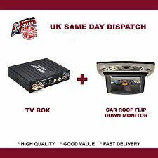 HD/SD IN CAR DVB-T DIVERSITY FREEVIEW TV DIGITAL RECEIVER WITH DVD Player