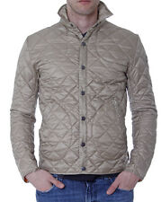COLMAR Giacca PIUMINO Uomo Beige Nylon Quilted Light Down Jacket New