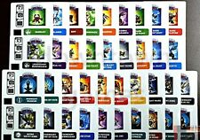 CARTE CODE STICKERS SKYLANDERS TRAP TEAM CODE CARD WEB CODE STICKERS