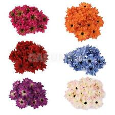 20x Artificial Silk Daisy Flowers Wedding bride Hair Clips Accessories