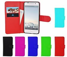 Magnetic Wallet Flip Book Card ID Holder Pu Leather Case Cover For HTC One A9 UK