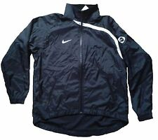 NIKE FOUNDATION ALL WEATHER JACKET BLACK/WHITE ADULT SIZE MEDIUM BNWT