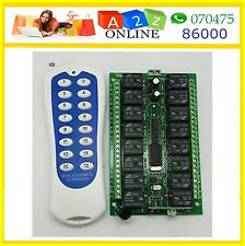 16Channel RF Wireless Remote Control Switch ON/OFF Home Automation so model to