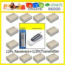 12 Ch Remote Control Switch-Rf Learning-Many Models-2-Select !!!!