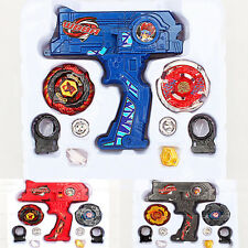New Beyblade Metal Fusion Rotate Top Fight Masters 2 Beyblade + Hybrid Kids Toys