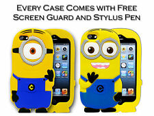 3D Soft Silicone Despicable Me Minion Gel Case Cover For Apple iPhone 5C / 5c UK