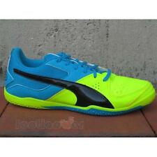Scarpe Calcetto Puma Gavetto Sala 103444 07 Uomo Royal Yellow Fluo Indoor IT