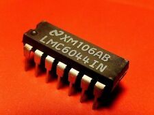 5x LMC6044IN LMC6044 OpAmp National Semiconductor