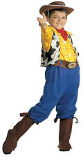 Childrens Woody Fancy dress Book Day Cowboy Toy Costume Jessie Milky Bar Kid