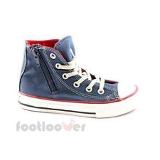 Scarpe Converse All Star CT Side zip Hi 643942C JR navy Red limited Canvas IT