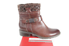 Marco Tozzi Ladies Boots Ankle Boots Winter Boots brown leather new