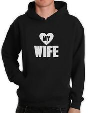 Love My Wife - Matching Couples Valentines Gift Hoodie Married Couples