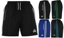 Lonsdale Two Stripe Woven Shorts Mens Boxing Training Gym All sizes S - XXXXL