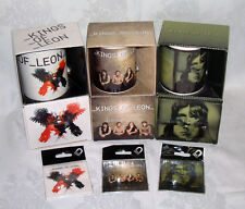 KINGS OF LEON - OFFICIAL MERCHANDISE - COFFEE MUGS & FRIDGE MAGNETS – NEW