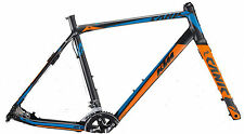 "KTM Canic CXA 28"" Cyclo Cross Telaio Ciclocross 2016 nero incl. Carbon Forcella"