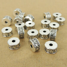 DIY Tibetan Silver Buddhism Spacer Beads LEAD NICKLE FREE TSP019