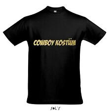 T-Shirt - COWBOY COSTUME DI CARNEVALE, carnevale, PARTY SHIRT S-XXL