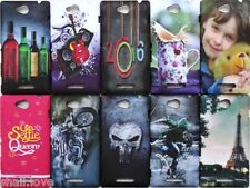 IMPORTED DESIGNER PRINTED HARD BACK CASE COVER FOR SONY XPERIA C S39H C2305