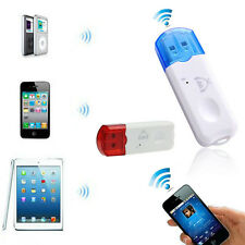 Wireless USB Bluetooth Stereo Audio Musica Ricevitore Adattatore Per iPhone