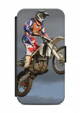 iPhone MOTOCROSS CROSS Custodia Flip custodia case cover Handyhülle PROTEZIONE