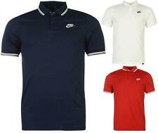 Nike Golf Tipped Golf Polo Shirt Mens Dri Fit Short Sleeves Top ~All sizes S- XL
