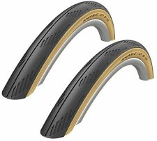 "PAIR 26"" x 1.95 SCHWALBE CITY JET SKIN Slick Mountain Bike City Road Tyres"