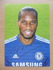 Chelsea Signed Official Club Cards 2010 - 2015 All Seasons