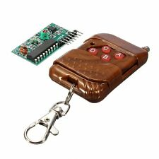 4 CH Key Wireless Remote Control 315MHZ Receiver module Arduino