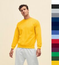 Fruit of the Loom: Herren Sweatshirt, Pullover, S - 3XL * Men's Basic Set-In NEU