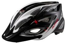 Alpina Skid 2.0 Fahrradhelm Radhelm - black white red