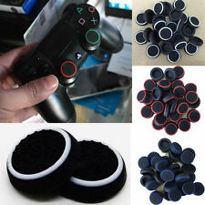 4 X Silicone Thumb Stick Grip Cover Caps For  PS4 Analog Controller 3 Colors