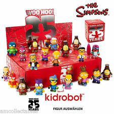 Kidrobot - THE SIMPSONS 25th ANIVERSARIO MINI SERIES - Figura a elegir - NUEVO