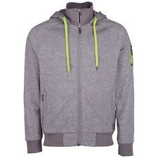 Chiemsee Laux Hooded Fleecejacke Herren - Neutral Grey