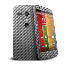 Cruzerlite Front & Back Full Body Vinyl Sticker Skin for Motorola Moto G 1st Gen
