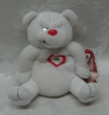 Meanies Valentines Heartless Bear Collectible 1999 Topcat Tags Beanie Bean bag