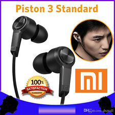 100% New Mi Xiaomi Piston 3 Headphone Universal Earphone In-Ear Headset