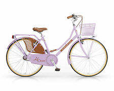 BICICLETTA OLD STYLE - FOLDING MBM HOLLAND CROWN LUX 24 DONNA