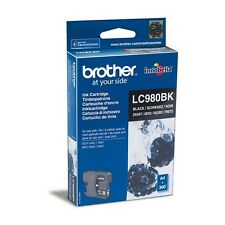 Autentico Brother LC980BK Cartuccia Inchiostro Nero per DCP MFC Stampanti