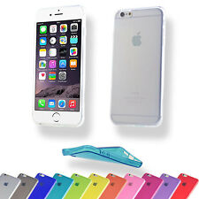 SILICONE ULTRASLIM per iPhone Apple Serie Custodia Cover Case Borsa TPU