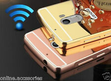 Luxury Aluminum Metal Bumper + Mirror Back Cover Case For Lenovo K4 NOTE / A7010