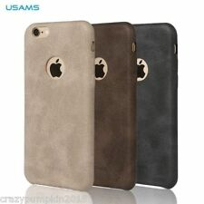 USAMS Bob Series Vintage PU Leather Back Case Cover For Apple iPhone 6/6S - 4.7""