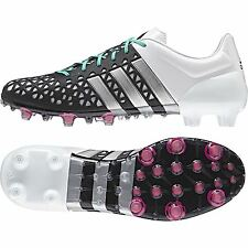 adidas Mens Ace 15.1 Firm Ground Football Boots Shoes Sports Black
